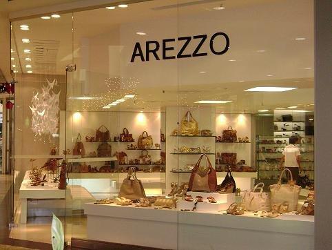 Franquia de Moda Lojas Arezzo Calçados e Bolsas de Luxo